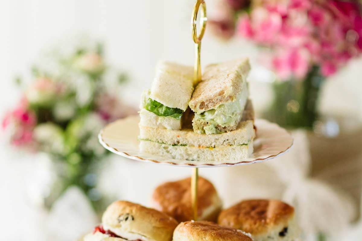 Afternoon tea catering is perfect for a vintage wedding - enjoy amazing wedding food